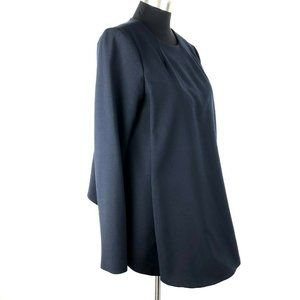 Opening Ceremony Navy Blue Smock Tunic Top 8
